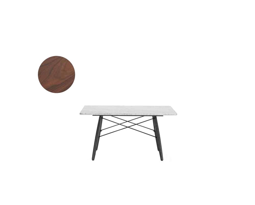 Vitra - Eames Coffee Table M  - Palisander - 2