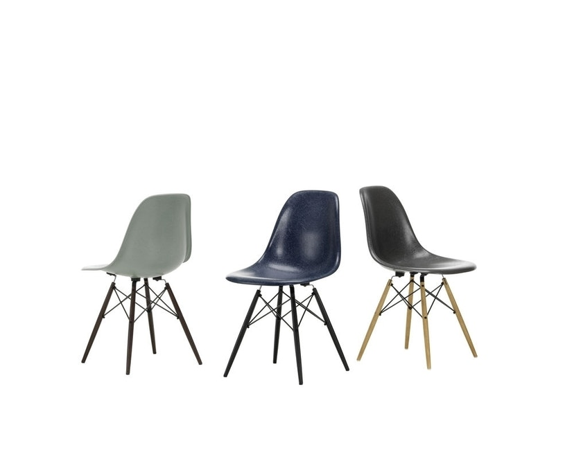 Vitra - Eames Fiberglass Side Chair DSW - 3