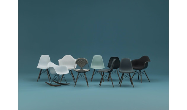 Vitra - Eames Plastic Armchair PACC mit Vollpolster - 6