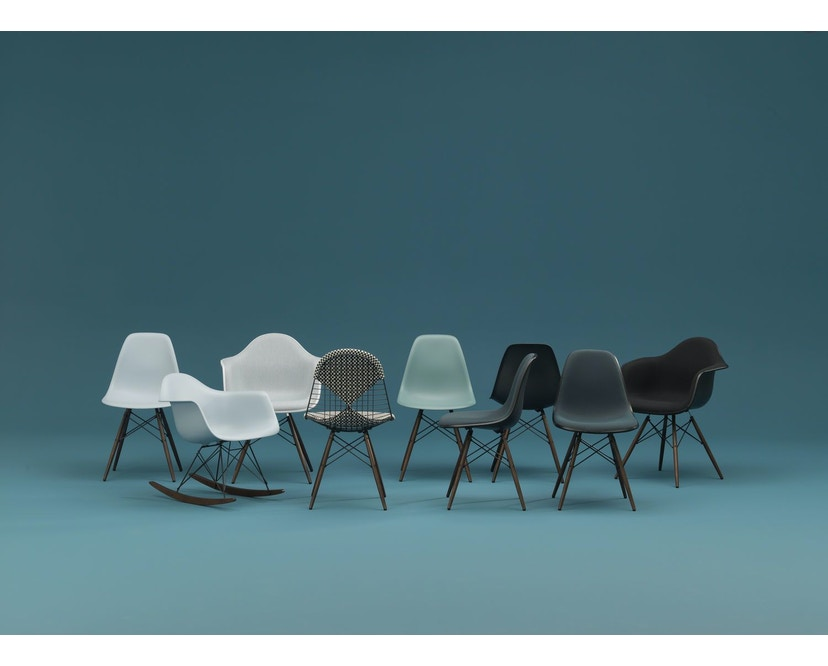 Vitra - Eames Plastic Armchair PACC mit Sitzpolster - 6