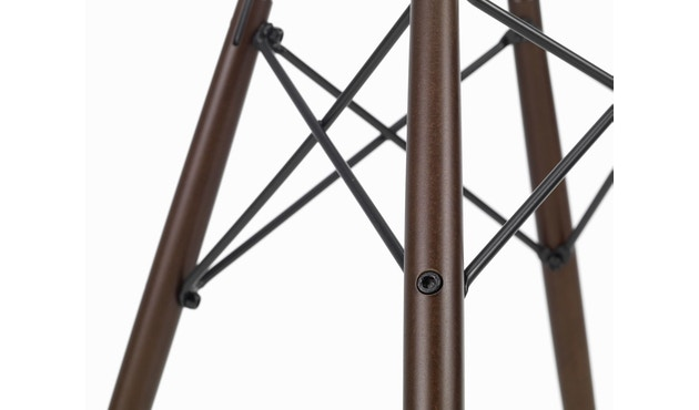 Vitra - DSW Gestell dunkel - basic dark - Sitzhöhe 43 - 6
