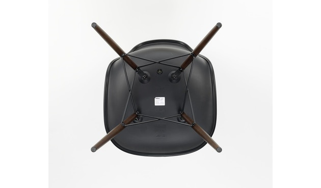 Vitra - DSW Gestell dunkel - basic dark - Sitzhöhe 43 - 5