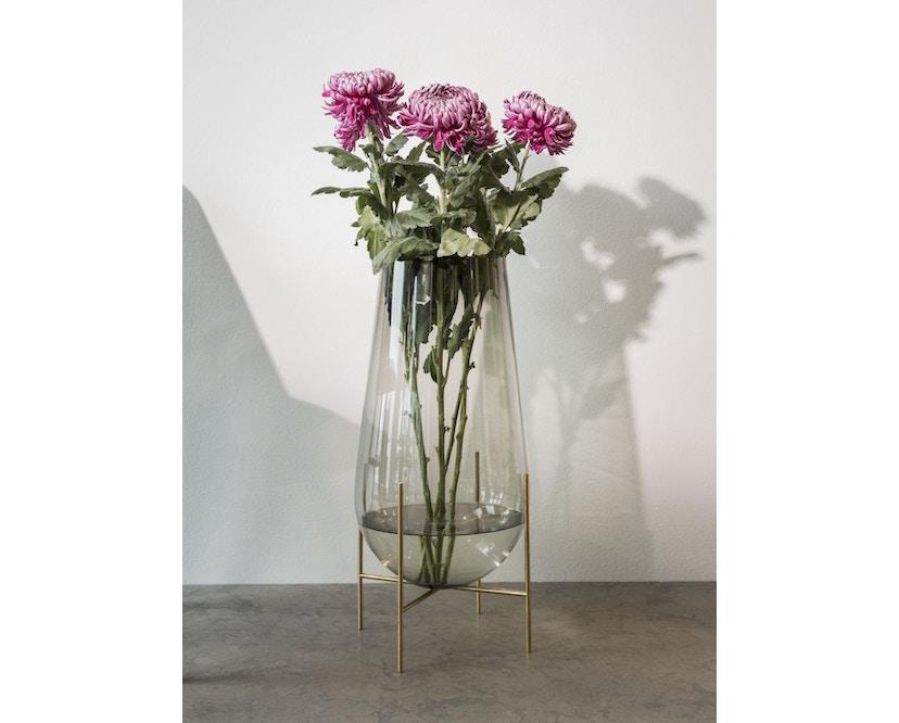 Menu - Echasse Vase - S - rauchglas - 2