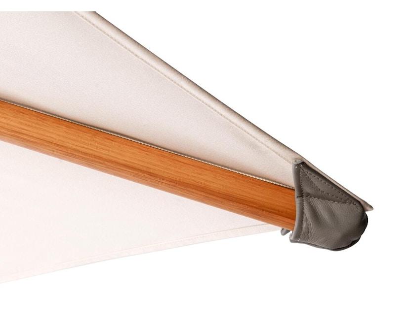 Tribù - Eclipse Holz Sonnenschirm - quadratisch klein - cansas - 4