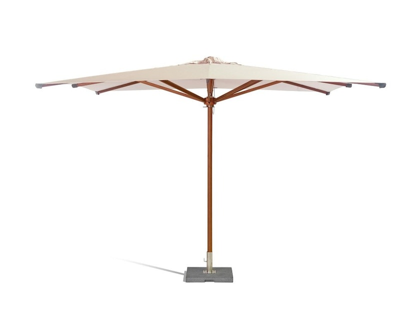 Tribù - Eclipse hout parasol - rond - 02 Canvas - 2