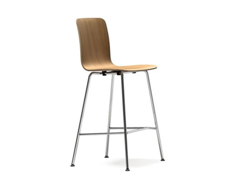 Vitra - HAL Ply Tube Barstuhl high - Eiche hell - 1