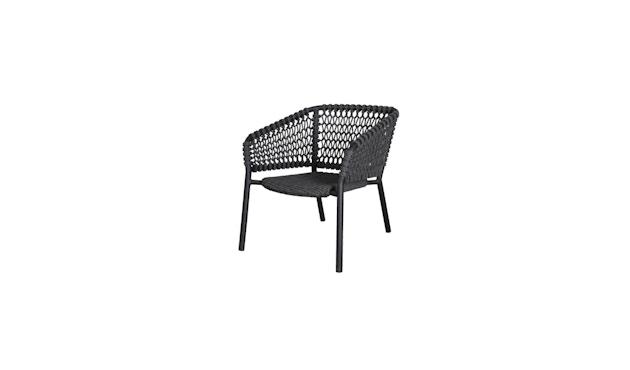 Ocean Lounge Sessel - Dark grey