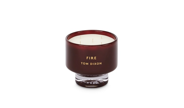 Tom Dixon - Elements Duftkerze - Feuer - L - 3