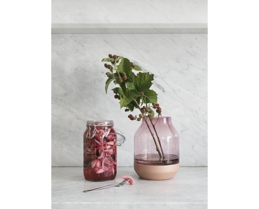 Muuto - Elevated Vase - grey - grijs - 5
