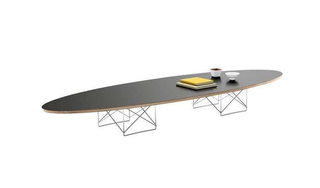 Vitra - Elliptical Table ETR - Gestell verchromt - schwarz - 2