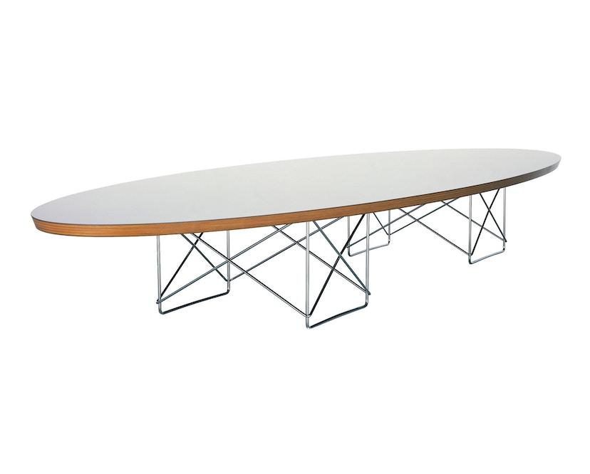 Vitra - Elliptical Table ETR - Gestell verchromt - weiß - 1