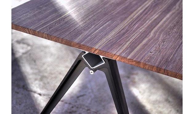 Randers + Radius - GRIP Basic tafel - 239 - 80 cm - wit - Zonder stekkerdoos - zwart - 11
