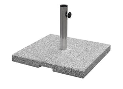 Porte parasol en granite Shade - Carré