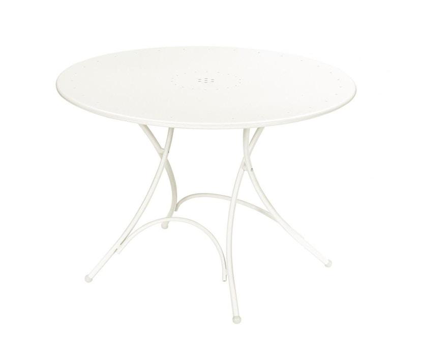 Emu - Pigalle klaptafel - rond - wit - 1