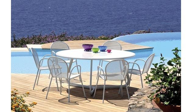 Emu - Pigalle klaptafel - rond - wit - 4