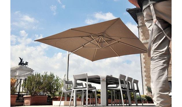 Emu - Shade Sonnenschirm mit Seitenmast - klein - weiß - 4