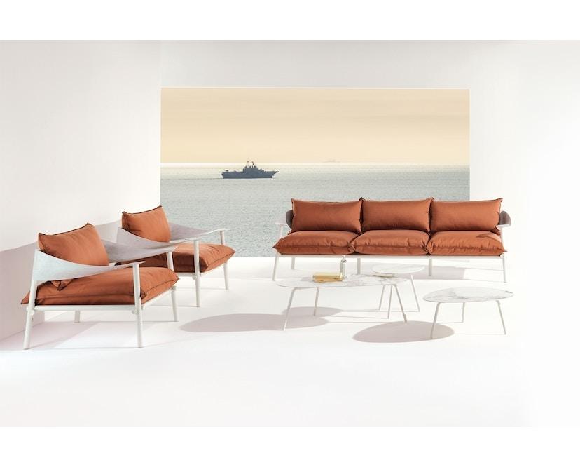 Emu - Terramare Sofa 2-Sitzer - mattweiß - 3