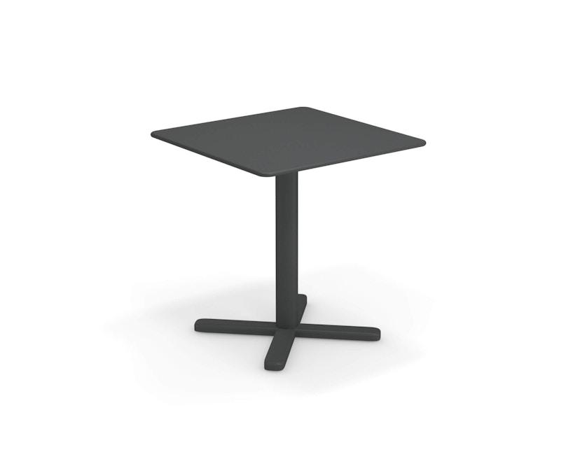 Emu - Darwin Tisch quadratisch - antikeisen - 70x70 - 1