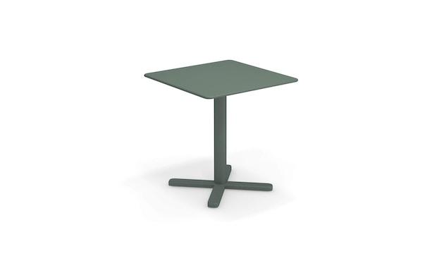 Emu - Darwin Tisch quadratisch - dunkelgrün - 70x70 - 1