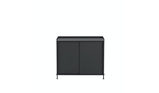 Muuto - Enfold Sideboard Tall - black/black - 2
