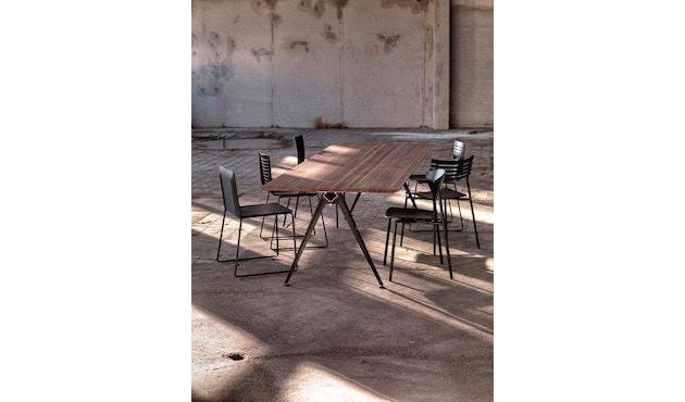 Randers + Radius - GRIP Basic tafel - 239 - 80 cm - wit - Zonder stekkerdoos - zwart - 12