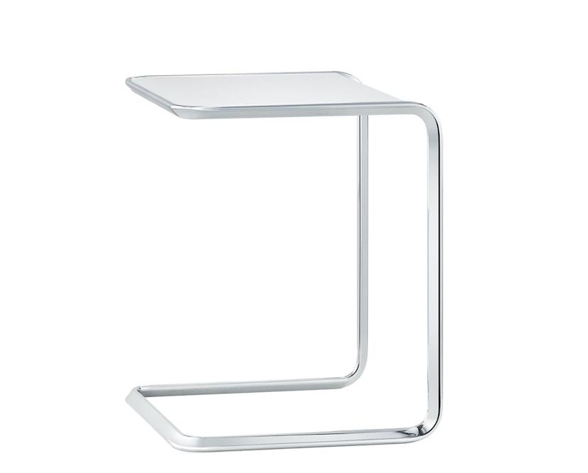 Tecta - K3 Oblique Satztisch mit PTFE- Gleitern - decklackiert weiß - 1