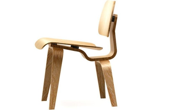 Vitra - Plywood Group LCW Stuhl - Esche natur - 1