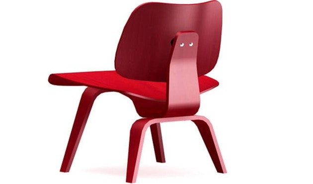 Vitra - Chaise Plywood Group LCW - frêne rouge - 1