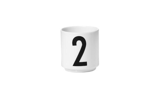 DESIGN LETTERS - Espresso Becher Set - Weiß - 3