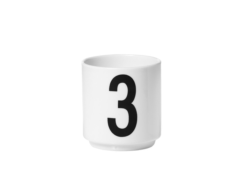 DESIGN LETTERS - Espresso Becher Set - Weiß - 4