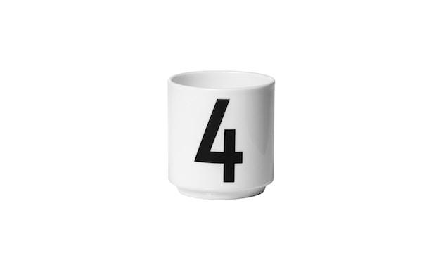 DESIGN LETTERS - Espresso Becher Set - Weiß - 5