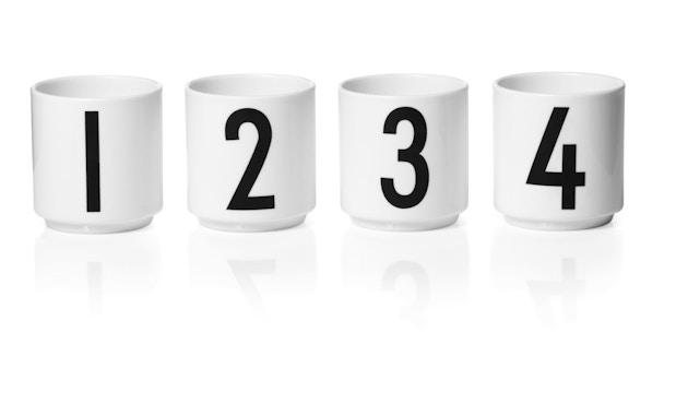 DESIGN LETTERS - Espresso Becher Set - Weiß - 1