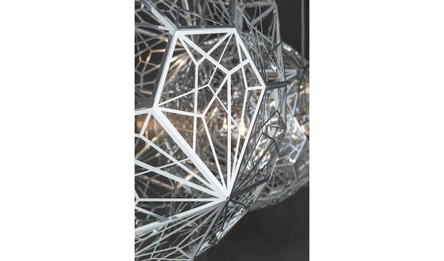 Tom Dixon - Etch Web Hängeleuchte - edelstahl - 3