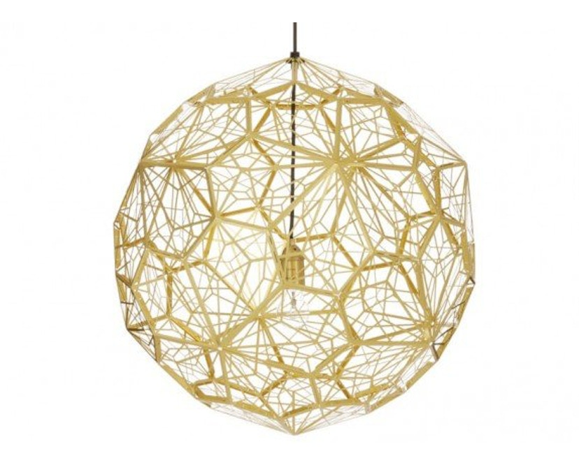 Tom Dixon - Etch Web hanglamp - messing - 1
