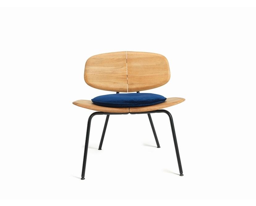 Ethimo - Agave Sitzkissen rund - velvet blue - 2
