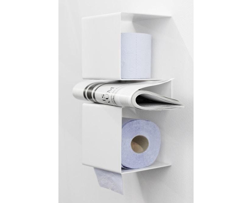 ex.t - In Team Halter für Toilettenpapier - schwarz - 2