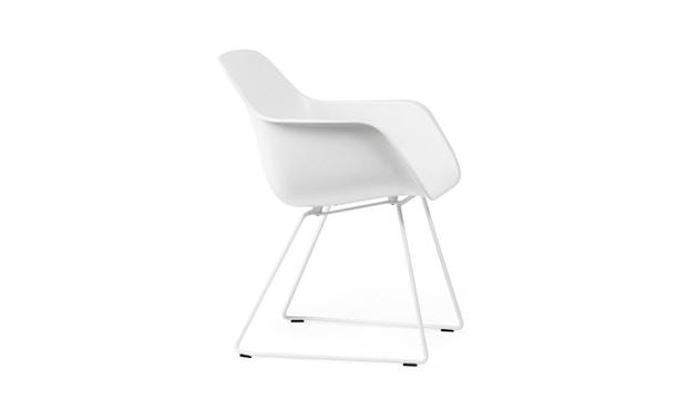 extremis - Captain´s Chair - weiß - Stahlgestell - 1
