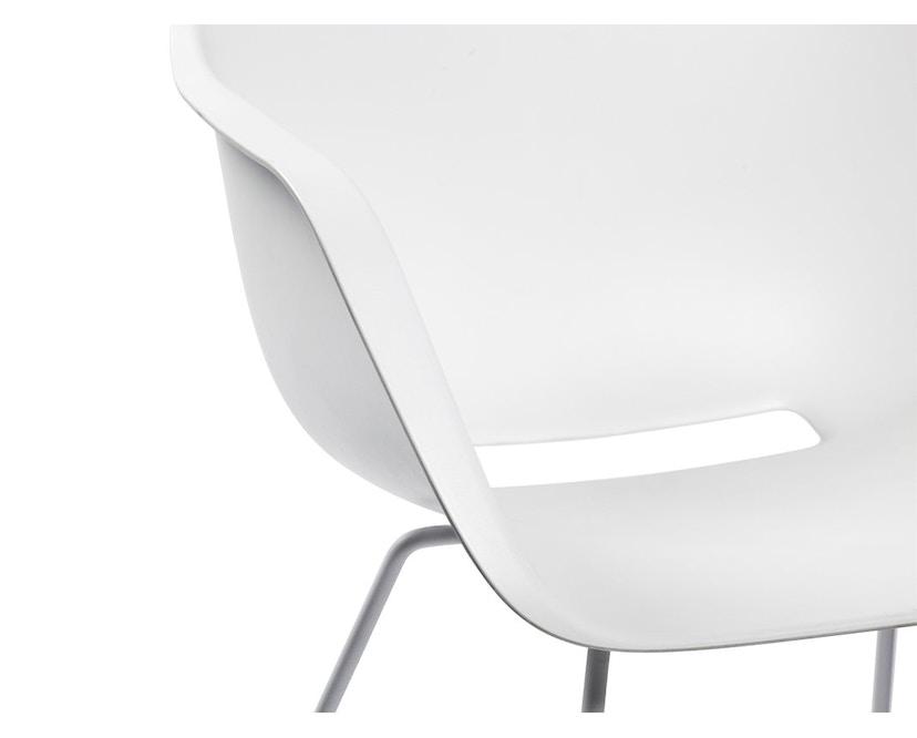 extremis - Captain´s Chair - weiß - Stahlgestell - 3