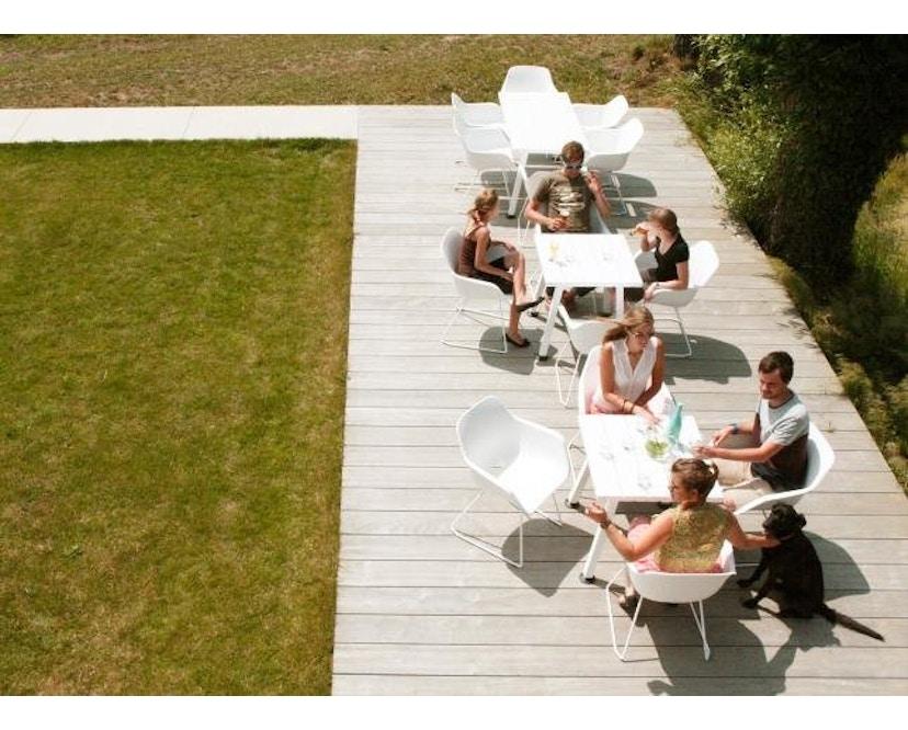 extremis - Captain´s Chair - weiß - Stahlgestell - 6