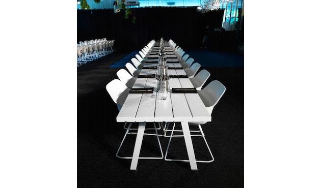 extremis - Captain´s Chair - weiß - Stahlgestell - 9