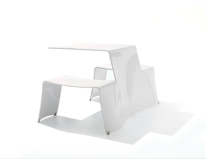 extremis - picnik Tisch - weiß - 1