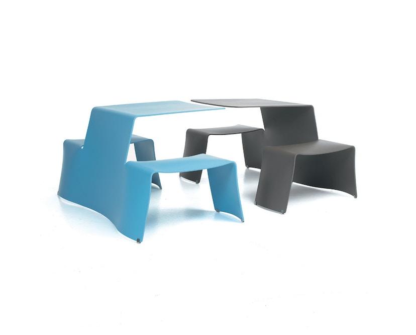extremis - picnik Tisch - weiß - 6