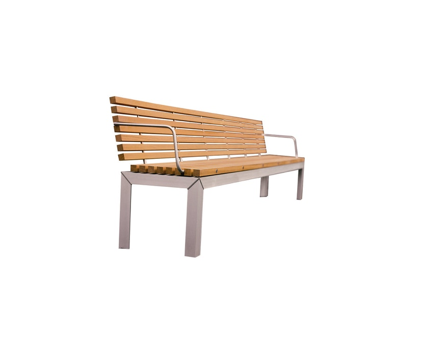 extremis - Extempore Bank mit Arm- und Rückenlehne 145cm - Jatoba hardwood - 0