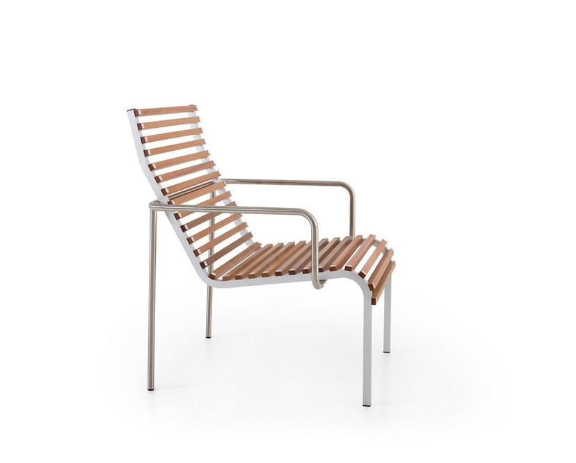 extremis - Extempore Niedriger Sessel ohne Kissen - Jatoba hardwood - 1