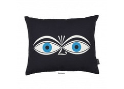 Coussin Graphic Print Eyes