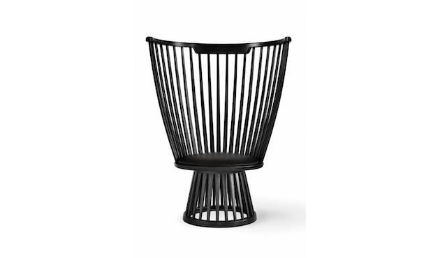 Tom Dixon - Fan stoel - zwart - 1