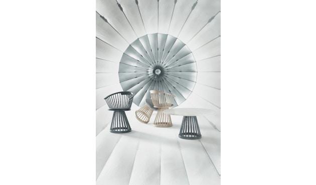 Tom Dixon - Fan tafel berkenhout - 60 cm - 2