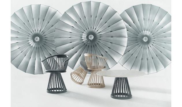 Tom Dixon - Fan Tisch - Birke - schwarz - Marmor - 3