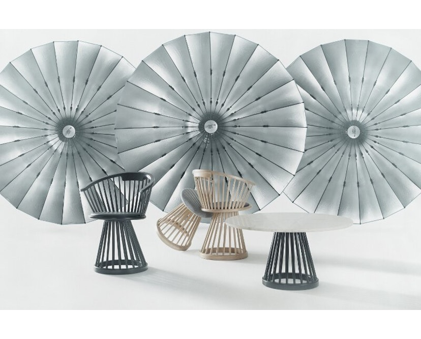 Tom Dixon - Fan tafel berkenhout - 60 cm - 3