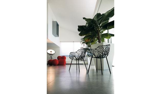 Fast - Chaise de jardin Forest - gris clair - 6